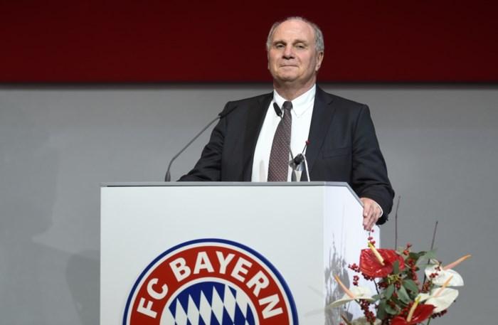Ex-gevangene Uli Hoeness is opnieuw voorzitter van Bayern München
