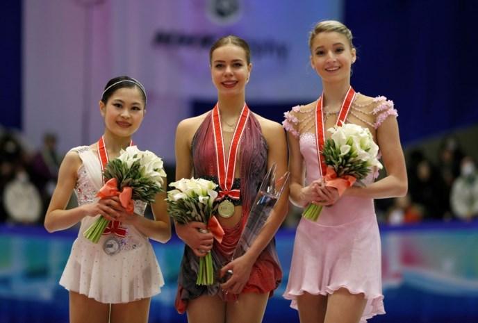 Pogorilaya en Hanyu triomferen in laatste manche NHK Trophy