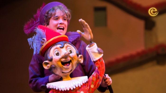 Eftelingmusical Pinokkio in Antwerpse Stadsschouwburg