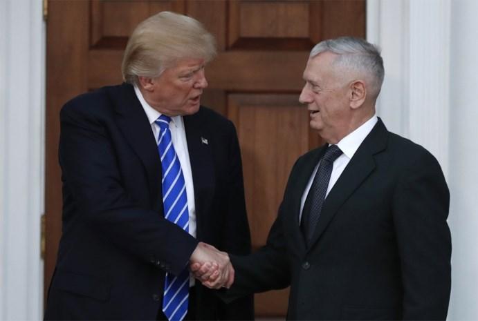 Trump wil 'Mad Dog' als minister van Defensie