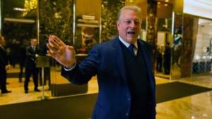 """Donald Trump ontmoet klimaatactivist Al Gore: """"Zeer interessant"""""""