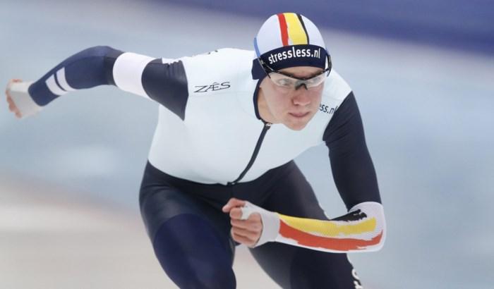 Bart Swings opent met matige sprint maar is wel finalist op massastart in Herenveen