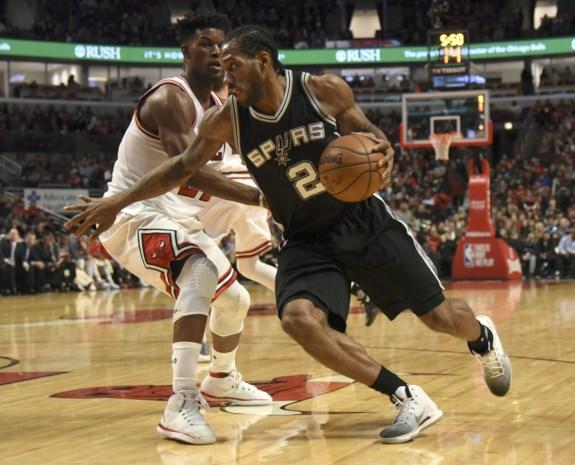 NBA. San Antonio loopt in Chicago tegen eerste uitnederlaag aan