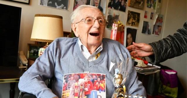 Josse (104) is oudste man ooit in Boortmeerbeek