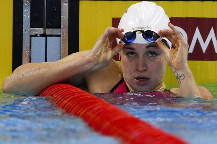 Fanny Lecluyse uitgeschakeld in halve finales 100m wisselslag