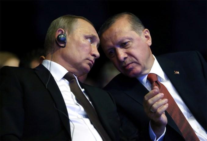 """Erdogan en Poetin willen evacuaties uit Aleppo """"zo snel mogelijk"""" hervatten"""