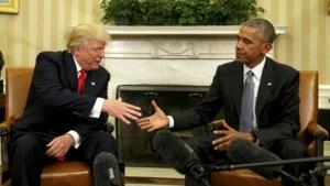 Donald Trump kan vliegende start maken als president dankzij beleid van Barack Obama
