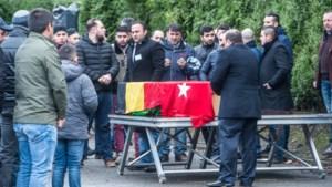 Familie en vrienden nemen afscheid van Kerim