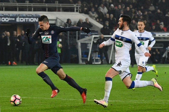 PSG legt er zeven in het mandje, Draxler scoort bij debuut