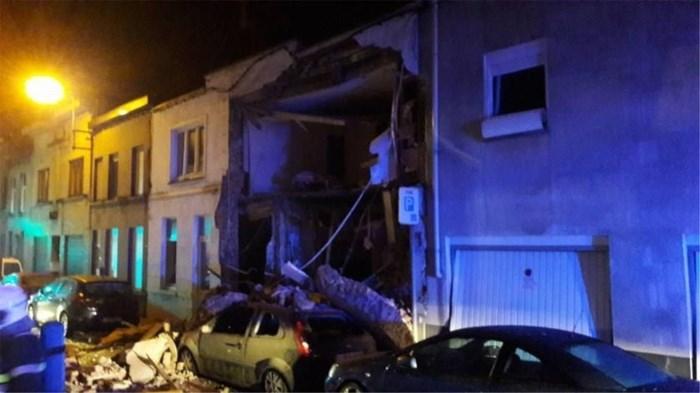 Gasexplosie veegt woning volledig weg