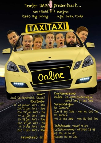 'Teater Dag' presenteert 'taxi taxi online'