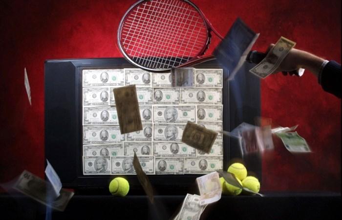 Tennisser levenslang geschorst voor poging tot match-fixing