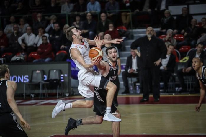 Charleroi geeft in slotminuut stuntzege weg in Champions League basketbal