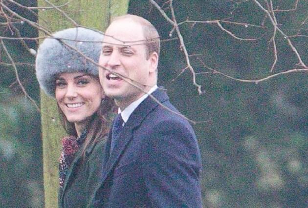 Kate Middleton draagt veelbesproken bontmuts