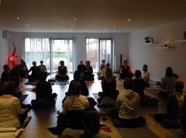 Yogastudio zet deuren open