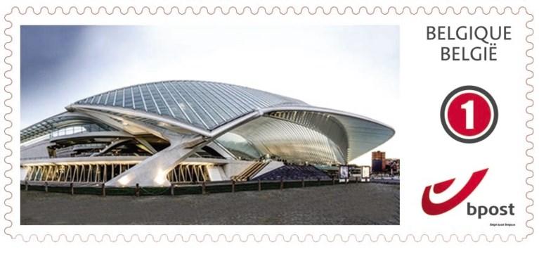 Havenhuis schittert nu ook op postzegel