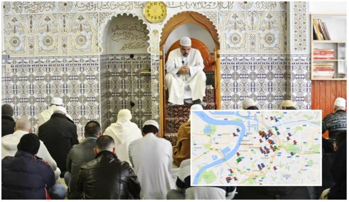 Dit zijn de 57 Antwerpse moskeeën