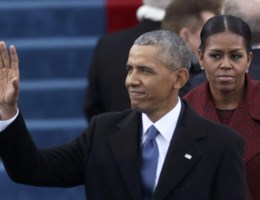 FOTO. Michelle Obama was er niet graag bij, en dat liet ze merken