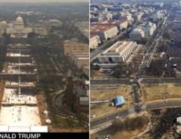 FOTO. Obama was toch grotere publiekstrekker