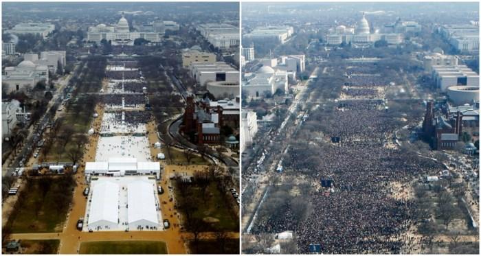 Een wereld van verschil: het publiek voor Obama vs het publiek voor Trump