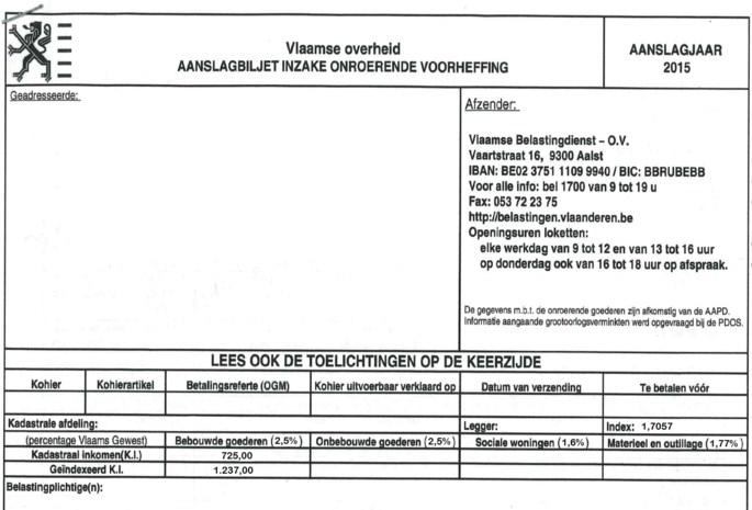 """""""Mogelijk 7800 belastingbrieven zoek geraakt in Mechelen"""""""