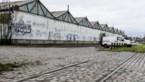 Hangars Scheldekaaien op weg naar Spoor Oost