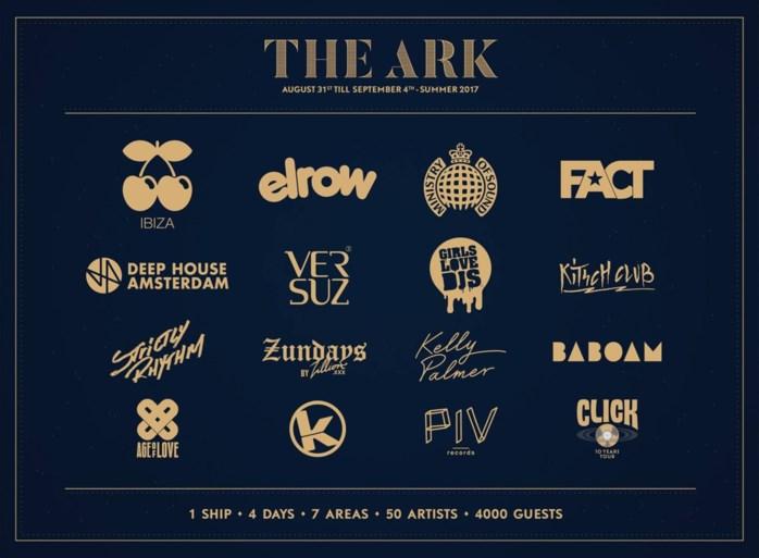Pacha, Kozzmozz, Kelly Slater,...: dit zijn alle stage hosts van The Ark