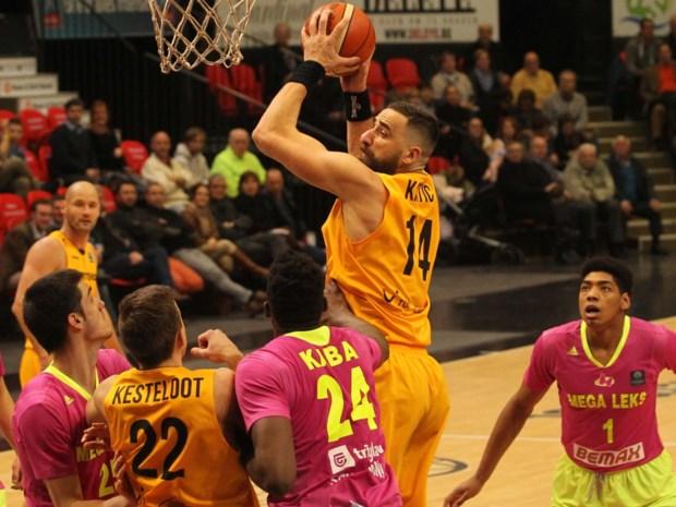 Oostende en Charleroi loten Franse clubs in 1/8ste finales FIBA Europe Cup