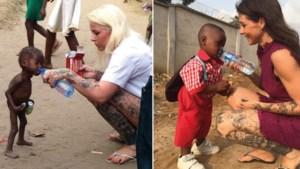 """VIDEO. Een jaar geleden was dit """"heksenkind"""" uitgehongerd en verstoten, maar deze week beleefde Hope gezond en wel zijn eerste schooldag"""