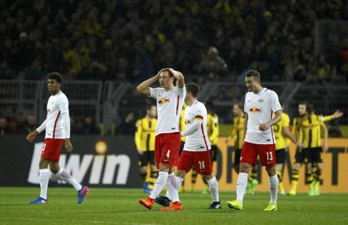 Leipzig ziet kloofje met Bayern München groter worden