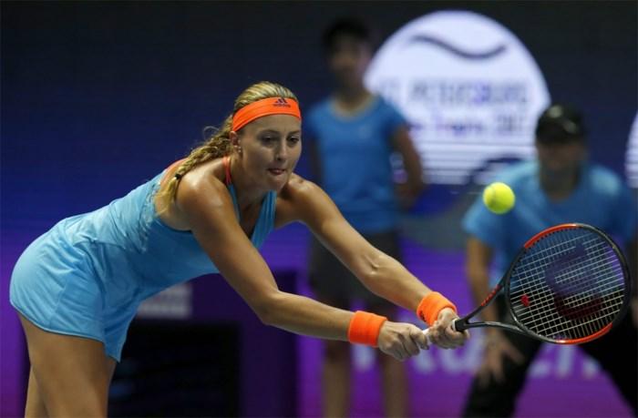 Kristina Mladenovic bereikt de finale in Sint-Petersburg