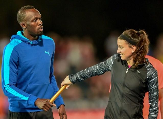 Usain Bolt start seizoen in gemengde estafetterace