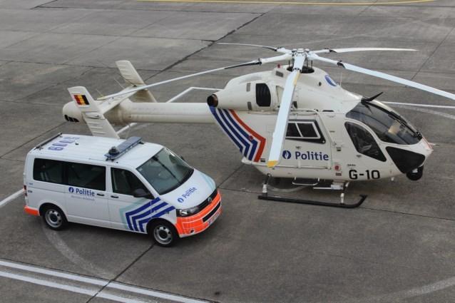 Zoekactie met politiehelikopter na uur stopgezet