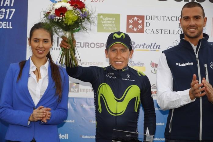 Van Avermaet verliest gele trui aan Quintana in Valencia, Ben Hermans blijft tweede