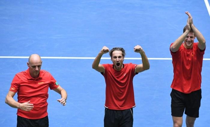 """Davis Cup-kapitein Johan Van Herck: """"Toonden dat we karakter hebben"""""""