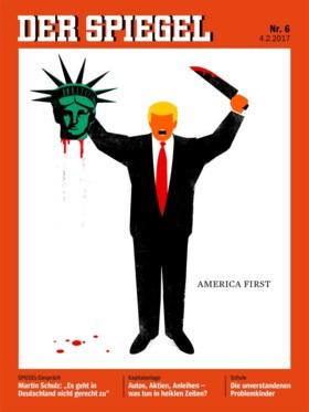 Deze cover over Trump gaat de wereld rond