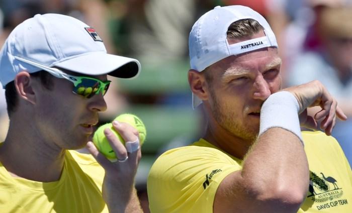 Australië en Frankrijk bereiken kwartfinales op Davis Cup