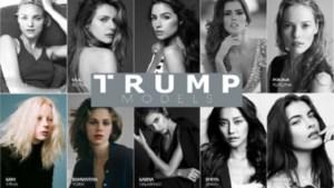 Modellen die voor Trump werken, hebben het niet gemakkelijk