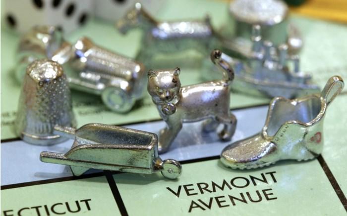 Vingerhoedje verdwijnt uit Monopoly
