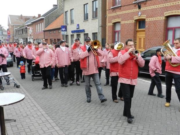 In rood-wit naar Zandvliet Sport