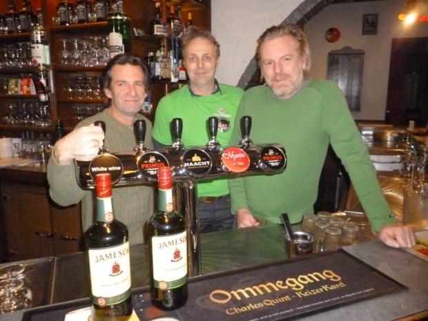 Bar Tabac voor een dag O'Gary's: Ierse feestdag St.-Patrick's Day voor 't eerst gevierd in Boom