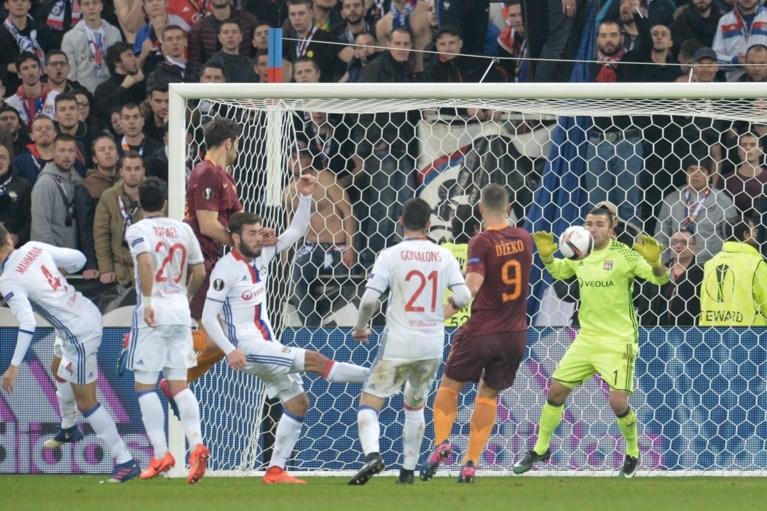 Roma geeft voorsprong uit handen op Franse bodem, Duits duel eindigt onbeslist