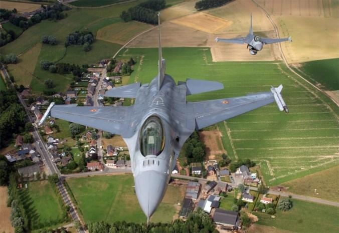 F-16's onderscheppen opnieuw verdacht vliegtuig boven België