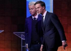 Verwijten vliegen in het rond in eerste verkiezingsdebat tussen Wilders en Rutte