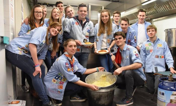 KSA Broechem serveert pasta voor ongeveer 300 eters