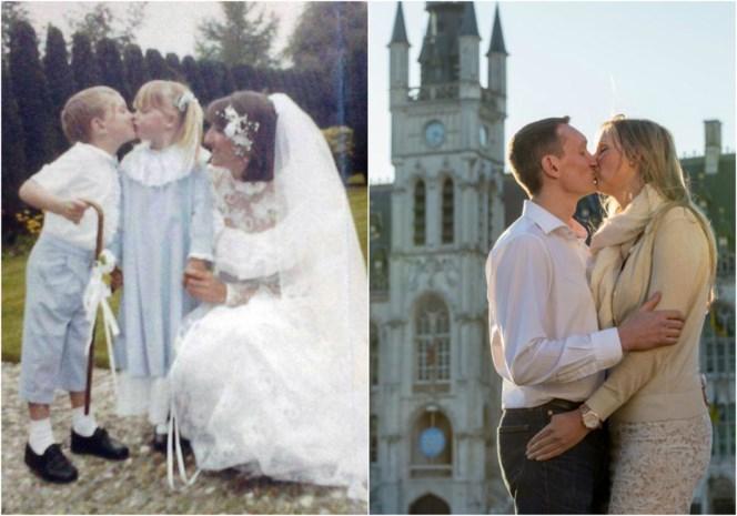33 jaar geleden bruidskindjes, binnenkort zelf een bruidspaar