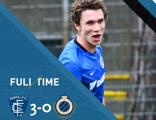 Empoli verspert Club Brugge de weg naar de finale op Viareggio Cup