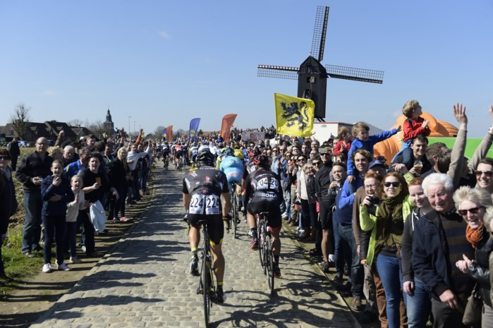 Betonblokken en droneverbod voor Ronde van Vlaanderen