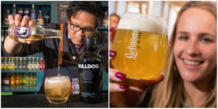 Van gember als tonic tot trendy bier: dit zijn de nieuwste trends in uw glas