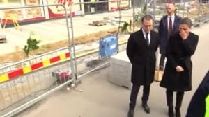 Zweedse kroonprinses geëmotioneerd tijdens bezoek aan plaats van aanslag
